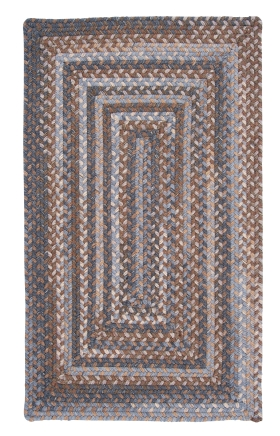 Colonial Mills Braided Rugs Gloucester Gray 15494