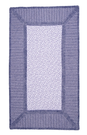 Colonial Mills Braided Rugs Gravel Bay Purple 15495