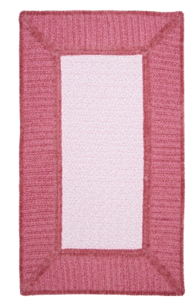 Colonial Mills Braided Rugs Gravel Bay Pink 15496
