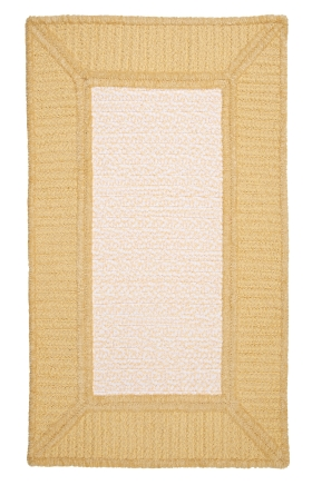 Colonial Mills Braided Rugs Gravel Bay Yellow 15497