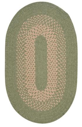 Colonial Mills Braided Rugs Jackson Green 15509