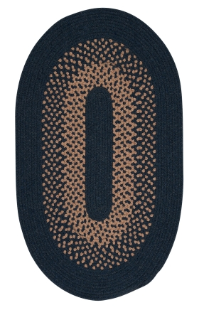 Colonial Mills Braided Rugs Madison Blue 15514