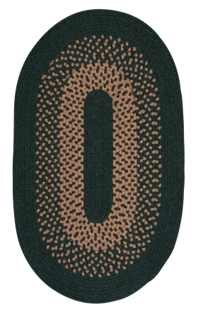 Colonial Mills Braided Rugs Madison Green 15515