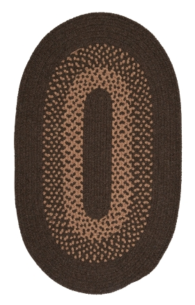 Colonial Mills Braided Rugs Madison Brown 15517