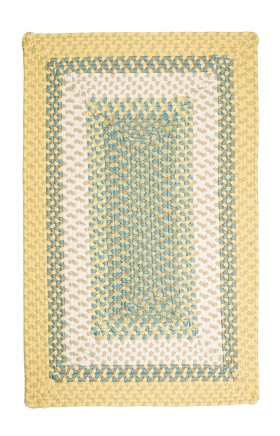 Colonial Mills Braided Rugs Montego Yellow 15531