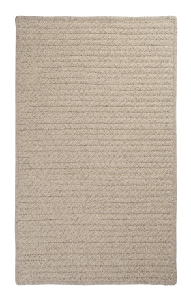Colonial Mills Braided Rugs Natural Wool Houndstooth Gray 15536
