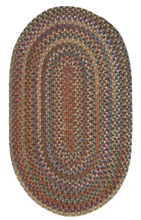 Colonial Mills Braided Rugs Oak Harbour Multicolor 15547