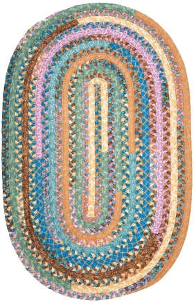 Colonial Mills Braided Rugs Olivera Multicolor 15553