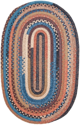 Colonial Mills Braided Rugs Olivera Multicolor 15554