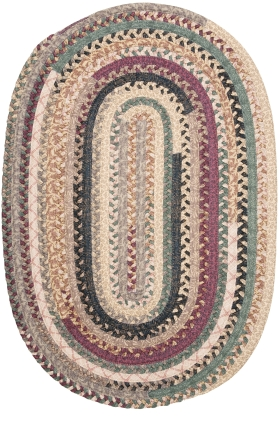 Colonial Mills Braided Rugs Olivera Multicolor 15557