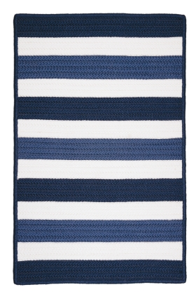 Colonial Mills Braided Rugs Portico Blue 15579