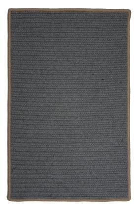 Colonial Mills Braided Rugs Renaissance Gray 15591
