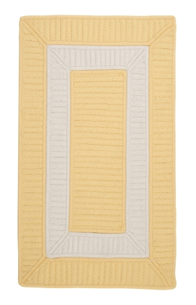 Colonial Mills Braided Rugs Rope Walk Yellow 15595