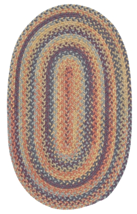 Colonial Mills Braided Rugs Rustica Multicolor 15605