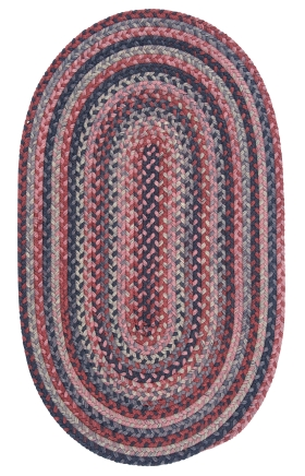 Colonial Mills Braided Rugs Rustica Multicolor 15606