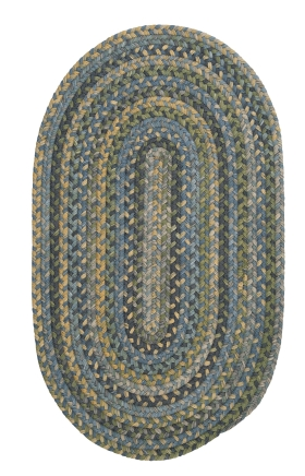 Colonial Mills Braided Rugs Rustica Multicolor 15607