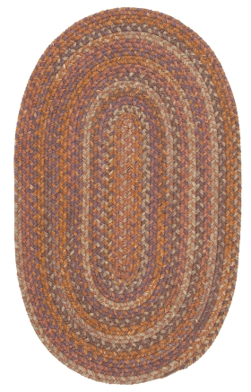 Colonial Mills Braided Rugs Rustica Multicolor 15609
