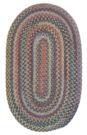 Colonial Mills Braided Rugs Rustica Multicolor 15610