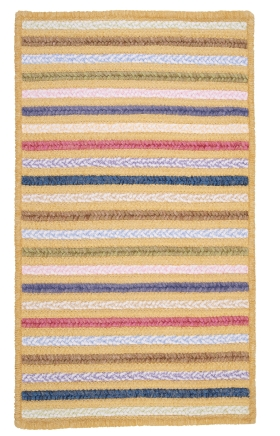 Colonial Mills Braided Rugs Seascape Yellow 15626
