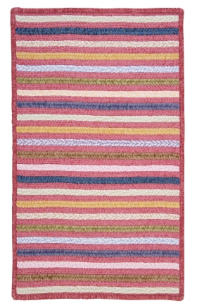 Colonial Mills Braided Rugs Seascape Pink 15629
