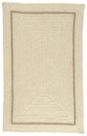 Colonial Mills Braided Rugs Shear Natural Gold 15636