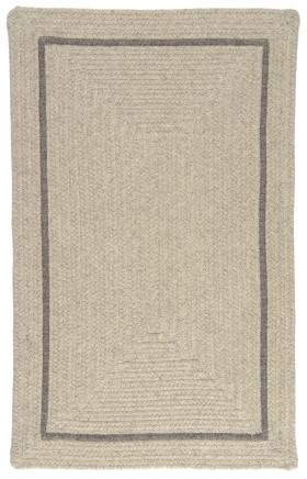 Colonial Mills Braided Rugs Shear Natural Gray 15637