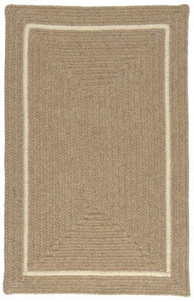 Colonial Mills Braided Rugs Shear Natural Gold 15639