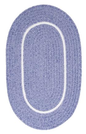 Colonial Mills Braided Rugs Silhouette Purple 15650
