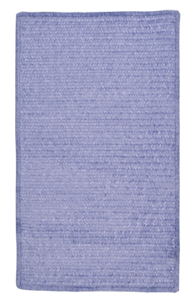Colonial Mills Braided Rugs Simple Chenille Purple 15656