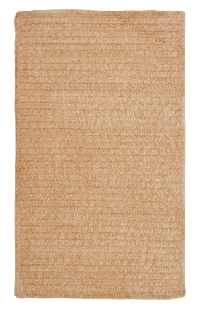 Colonial Mills Braided Rugs Simple Chenille Gold 15659