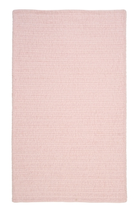Colonial Mills Braided Rugs Simple Chenille Pink 15663