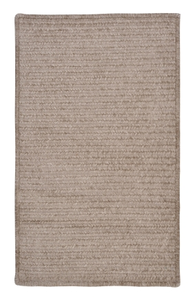 Colonial Mills Braided Rugs Simple Chenille Gray 15665