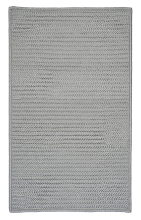 Colonial Mills Braided Rugs Simply Home Solid Gray 15677