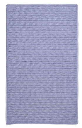 Colonial Mills Braided Rugs Simply Home Solid Purple 15696