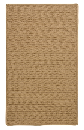 Colonial Mills Braided Rugs Simply Home Solid Gold 15704