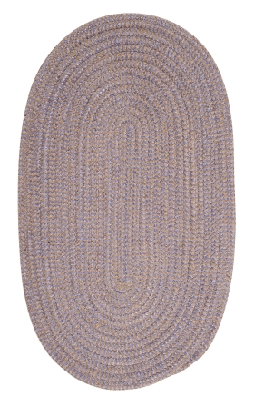 Colonial Mills Braided Rugs Softex Check Purple 15706