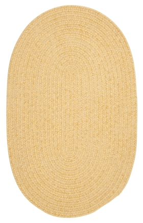 Colonial Mills Braided Rugs Spring Meadow Yellow 15717