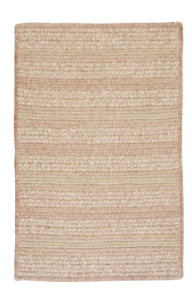 Colonial Mills Braided Rugs Texture Woven Gold 15745