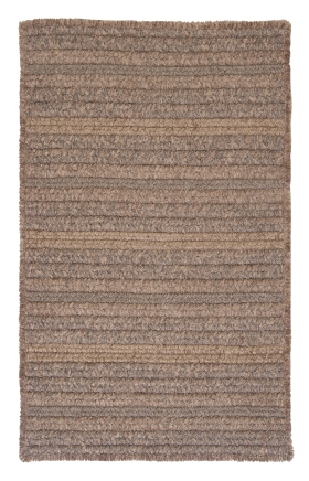 Colonial Mills Braided Rugs Texture Woven Brown 15746