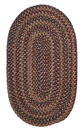 Colonial Mills Braided Rugs Twilight Purple 15765