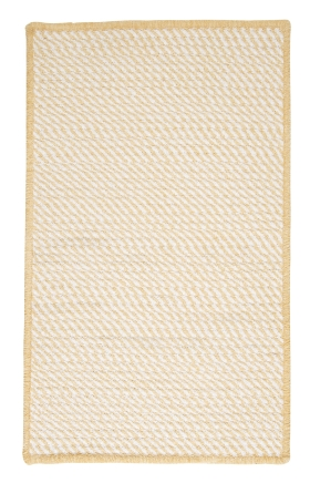Colonial Mills Braided Rugs Twisted Yellow 15771