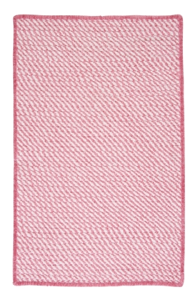 Colonial Mills Braided Rugs Twisted Pink 15775