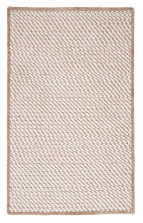 Colonial Mills Braided Rugs Twisted Cream 15776