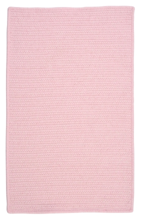 Colonial Mills Braided Rugs Westminster Pink 15787