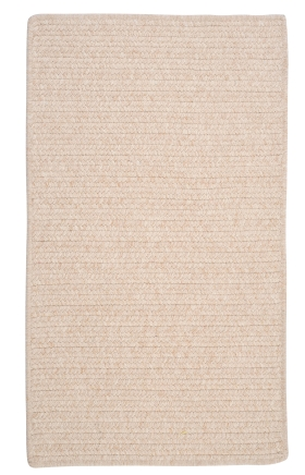Colonial Mills Braided Rugs Westminster Cream 15795