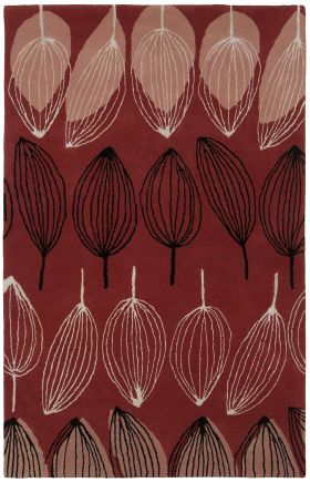 Chandra Contemporary Jessica Swift Red 15824