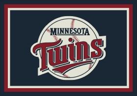 Milliken Sports Rugs MLB Team Spirit Blue 15872