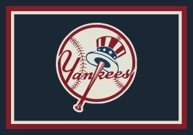 Milliken Sports Rugs MLB Team Spirit Blue 15873