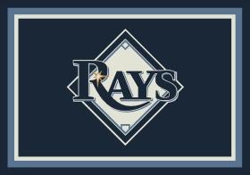 Milliken Sports Rugs MLB Team Spirit Blue 15876